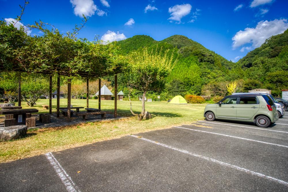 阿武川温泉公園 駐車場