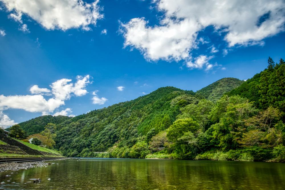 阿武川温泉公園 阿武川