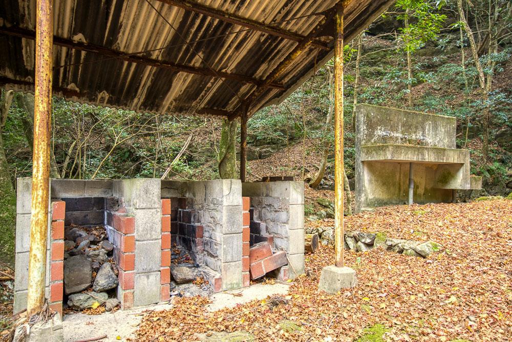 林間キャンプ場 炊事場