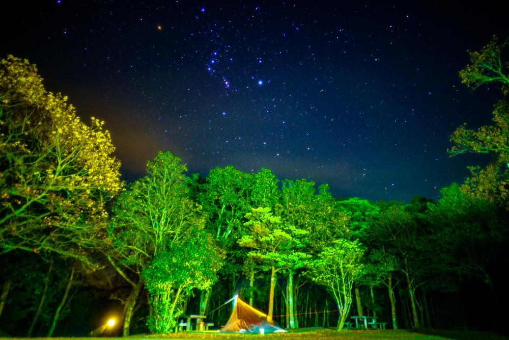 豊田湖畔公園 夜空