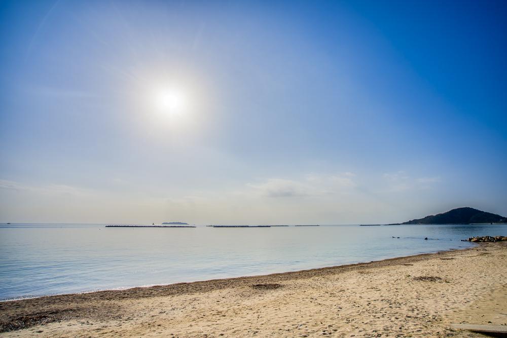 美濃ヶ浜海浜広場 海岸