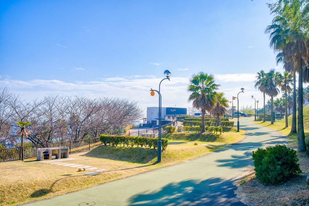 片添ヶ浜海浜公園オートキャンプ場 個別サイト