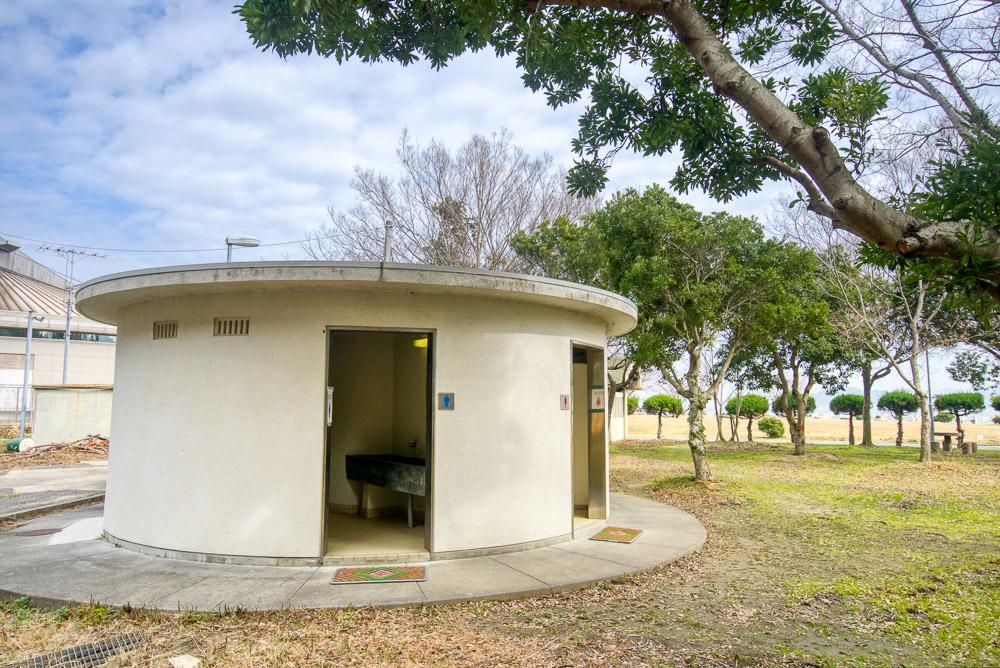 陸奥キャンプ場 トイレ