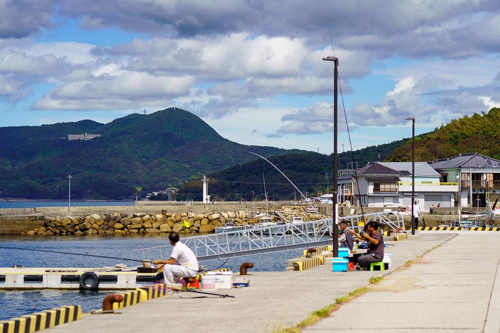 道の駅 上関海峡の裏