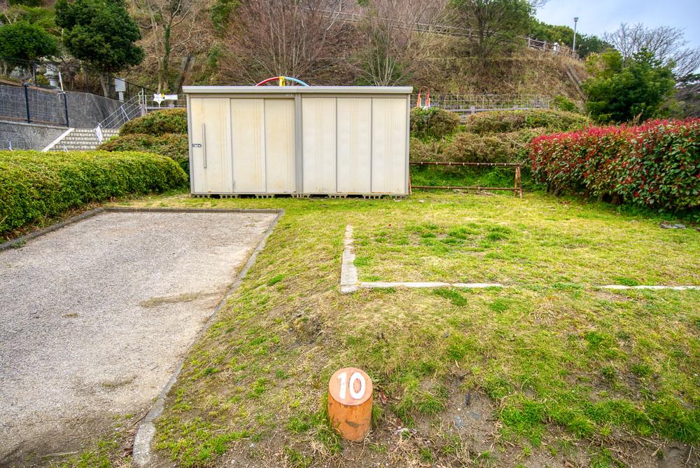 笠戸島家族旅行村 10番サイト