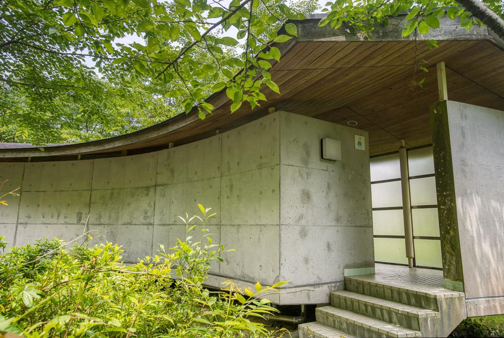 石城山キャンプ場 トイレ