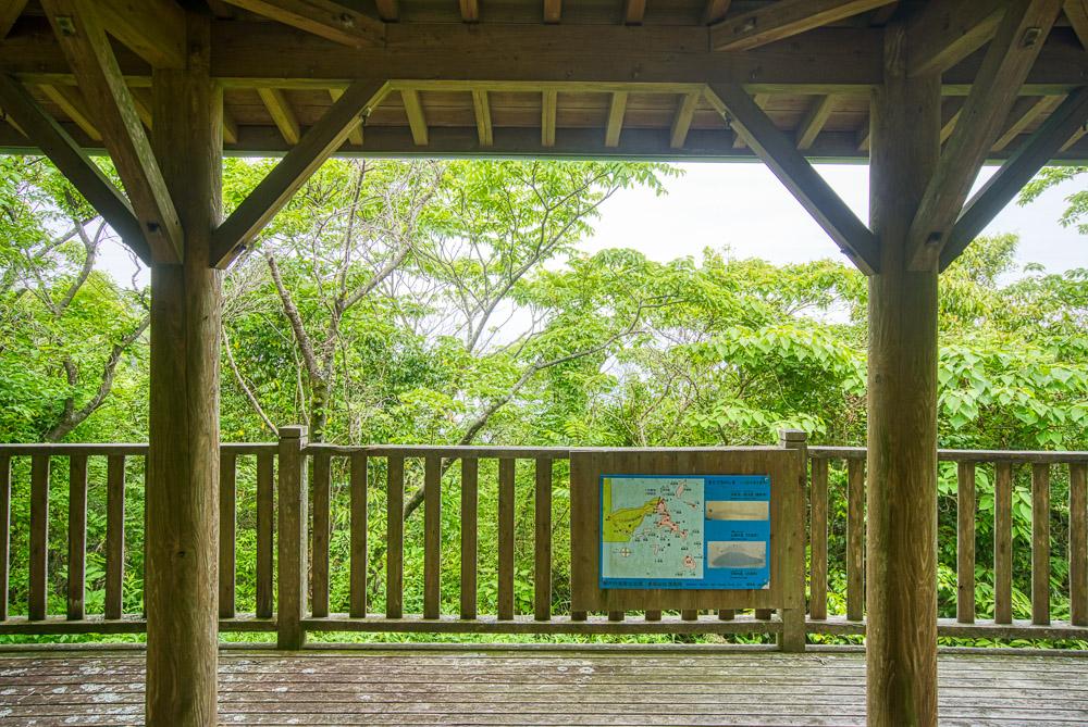 皇座山キャンプ場 展望台