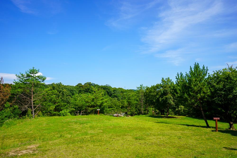 江汐公園キャンプ場 2番エリア