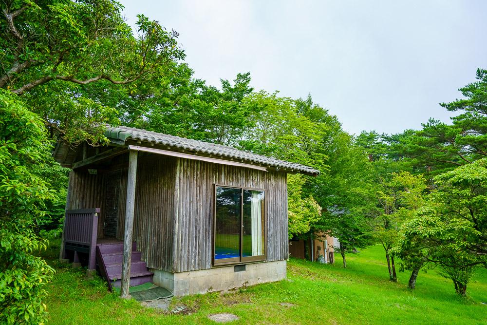 長野山緑地公園 ログハウス