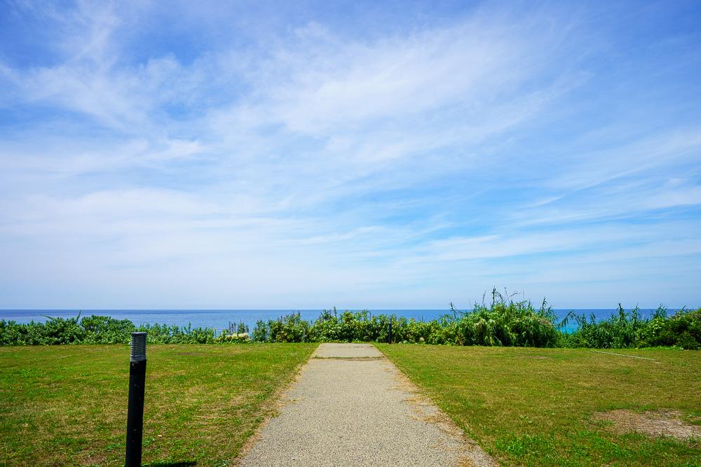 角島大浜キャンプ場 オーシャンビュー