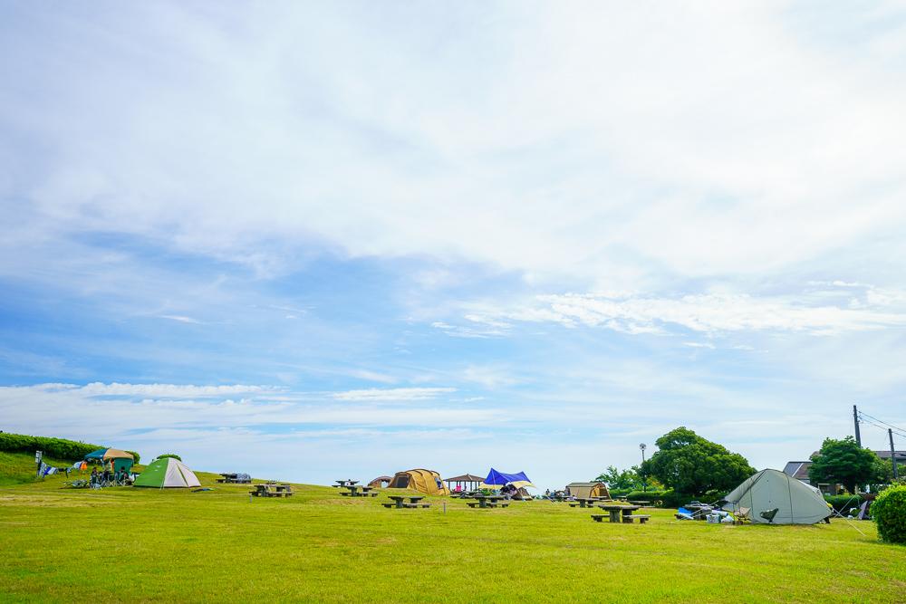 千畳敷高原キャンプ場 日本海側キャンプサイト