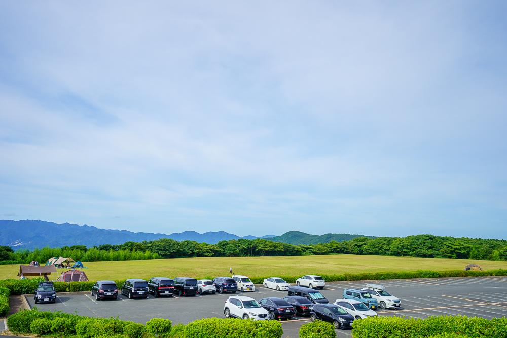 千畳敷高原キャンプ場 下段駐車場