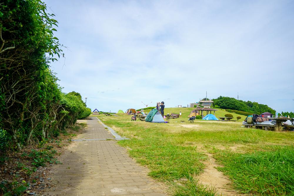 千畳敷高原キャンプ場 遊歩道