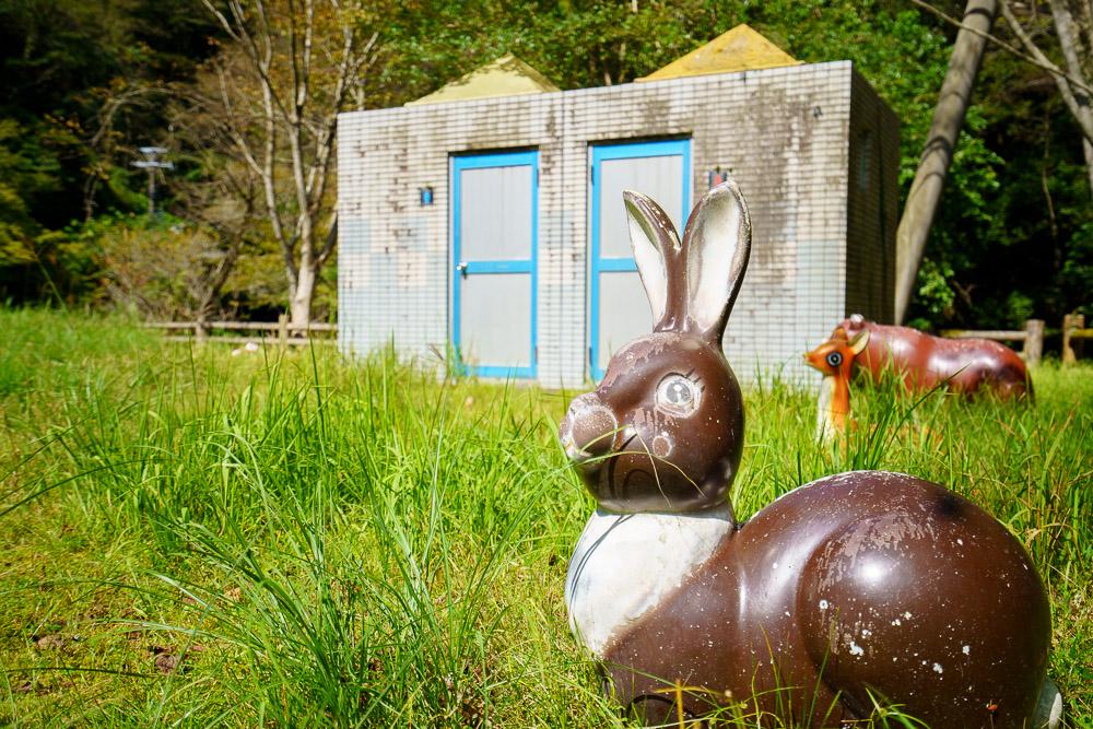桂木山麓緑地自然公園村キャンプ場 遊具