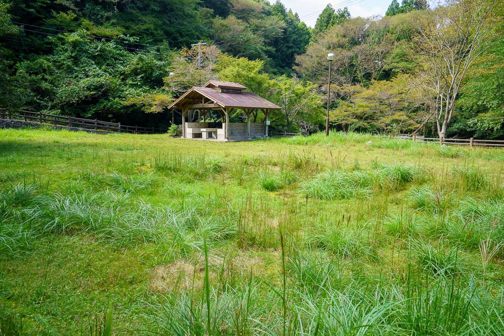 桂木山麓緑地自然公園村キャンプ場 キャンプサイト